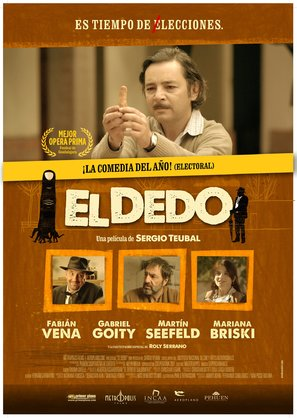 El dedo - Argentinian Movie Poster (thumbnail)