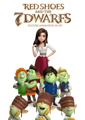 Red Shoes & the 7 Dwarfs - South Korean Movie Poster (thumbnail)
