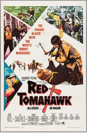 Red Tomahawk - Movie Poster (thumbnail)