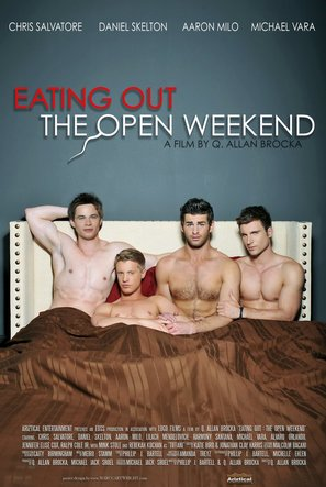 Eating Out: The Open Weekend - Movie Poster (thumbnail)