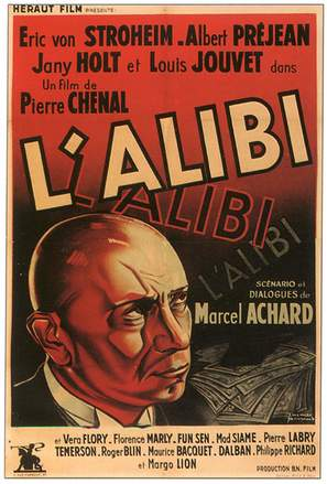L'alibi - French Movie Poster (thumbnail)