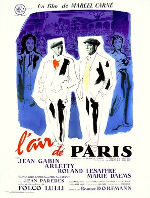 Air de Paris, L' - French Movie Poster (thumbnail)