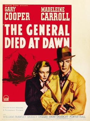 The General Died at Dawn - Movie Poster (thumbnail)