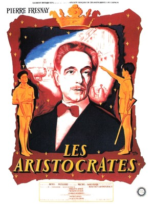 Les aristocrates - French Movie Poster (thumbnail)
