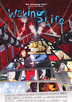 Waking Life - Movie Poster (thumbnail)