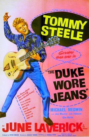 The Duke Wore Jeans - British Movie Poster (thumbnail)