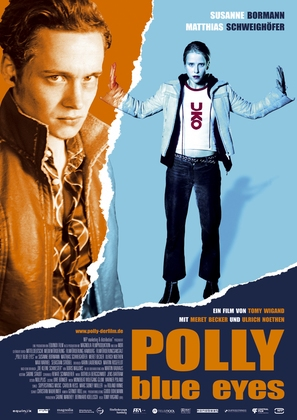 Polly Blue Eyes - German Movie Poster (thumbnail)