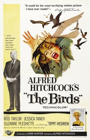 The Birds - Movie Poster (thumbnail)