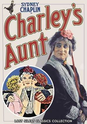 Charley's Aunt - DVD movie cover (thumbnail)