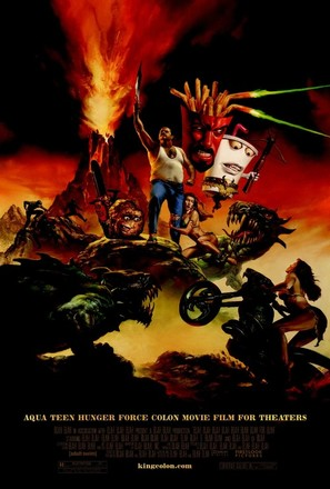 Aqua Teen Hunger Force Colon Movie Film for Theatres - Movie Poster (thumbnail)