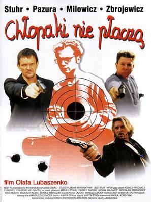 Chlopaki nie placza - Polish Movie Poster (thumbnail)