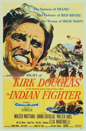 The Indian Fighter - Movie Poster (thumbnail)