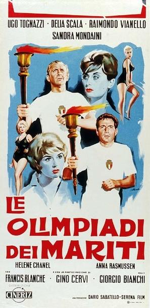 Le olimpiadi dei mariti - Italian Movie Poster (thumbnail)