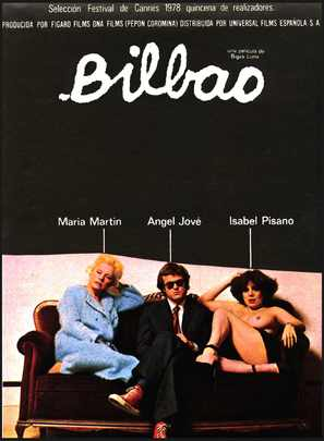 Bilbao - Spanish Movie Poster (thumbnail)