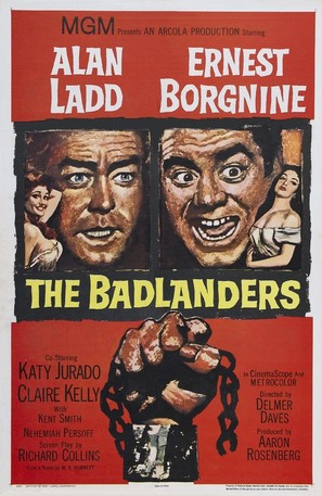 The Badlanders - Theatrical poster (thumbnail)