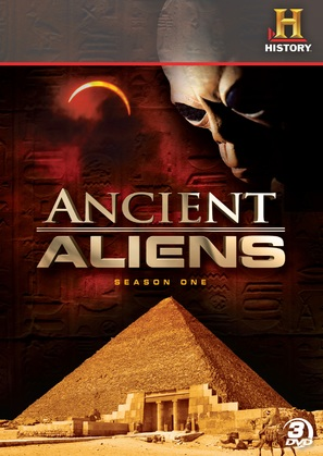 """Ancient Aliens"" - DVD movie cover (thumbnail)"