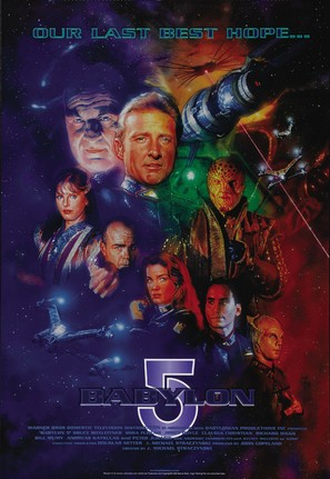 """Babylon 5"" - Movie Poster (thumbnail)"