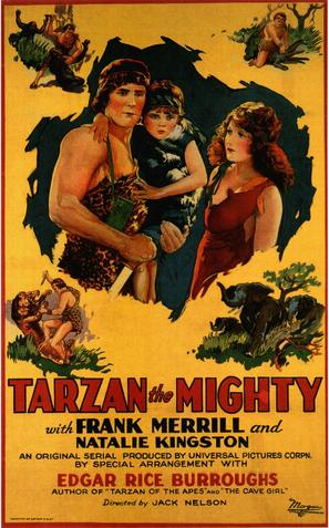Tarzan the Mighty - Movie Poster (thumbnail)