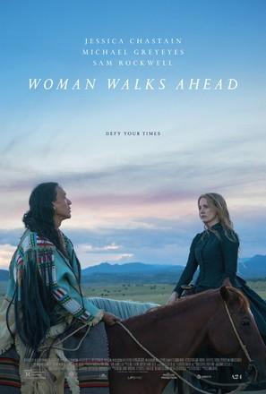 Woman Walks Ahead - Movie Poster (thumbnail)