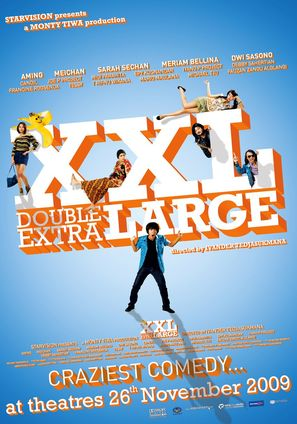 XXL: Double Extra Large - Indonesian Movie Poster (thumbnail)