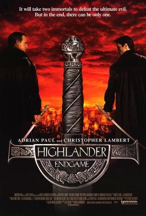 Highlander: Endgame - Movie Poster (thumbnail)