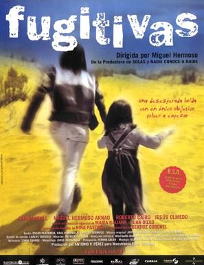 Fugitivas - Spanish Movie Poster (thumbnail)