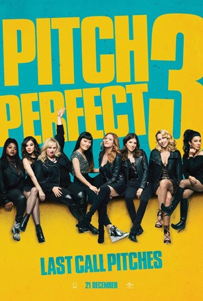 Pitch Perfect 3 - British Movie Poster (thumbnail)