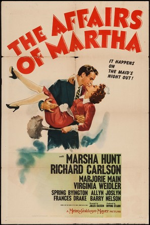 The Affairs of Martha - Movie Poster (thumbnail)