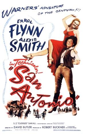 San Antonio - Movie Poster (thumbnail)