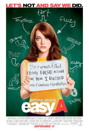 Easy A - Theatrical poster (thumbnail)