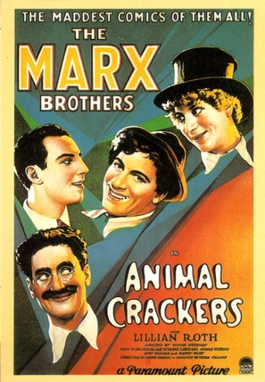 Animal Crackers - Movie Poster (thumbnail)