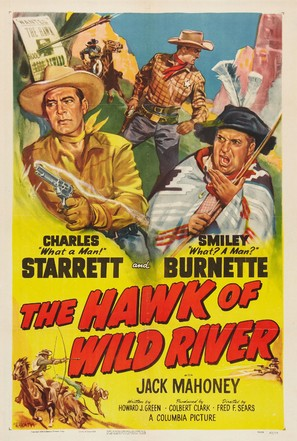 The Hawk of Wild River - Movie Poster (thumbnail)