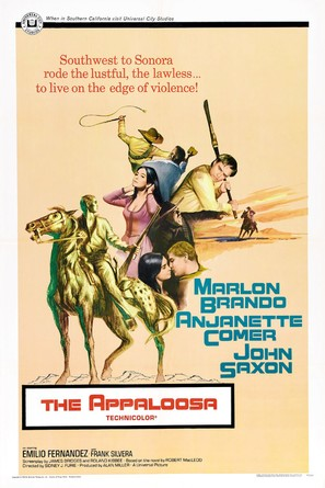 The Appaloosa - Movie Poster (thumbnail)