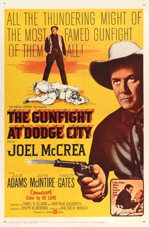 The Gunfight at Dodge City - Movie Poster (thumbnail)