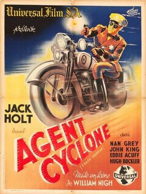 Crash Donovan - French Movie Poster (thumbnail)