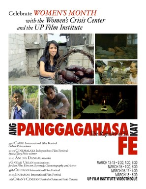 Ang panggagahasa kay Fe - Philippine Movie Poster (thumbnail)