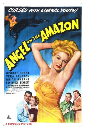 Angel on the Amazon - Movie Poster (thumbnail)