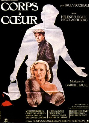 Corps à coeur - French Movie Poster (thumbnail)