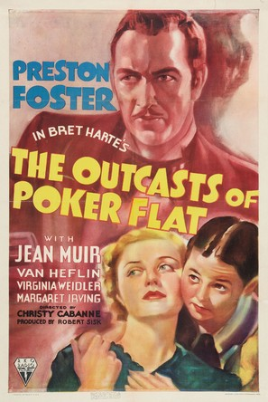The Outcasts of Poker Flat - Movie Poster (thumbnail)