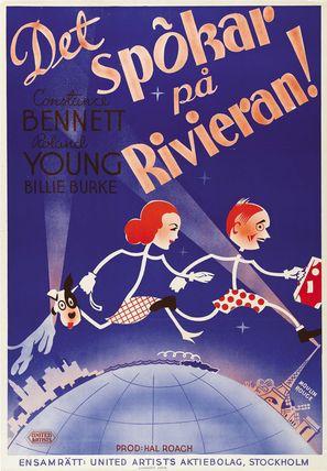 Topper Takes a Trip - Swedish Movie Poster (thumbnail)