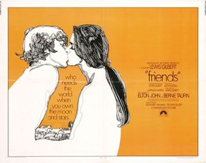 Friends - British Movie Poster (thumbnail)