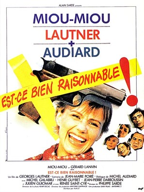 Est-ce bien raisonnable? - French Movie Poster (thumbnail)