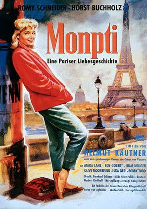 Monpti - German Movie Poster (thumbnail)