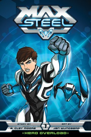"""Max Steel"" - DVD cover (thumbnail)"