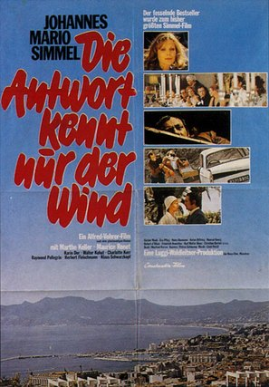 Antwort kennt nur der Wind, Die - German Movie Poster (thumbnail)