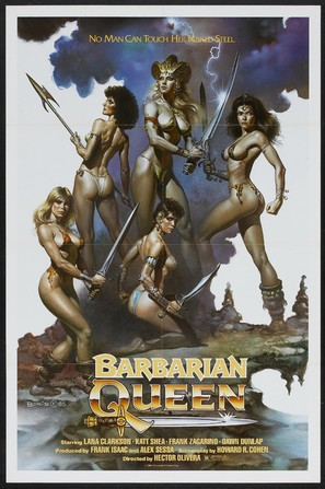 Barbarian Queen - Movie Poster (thumbnail)