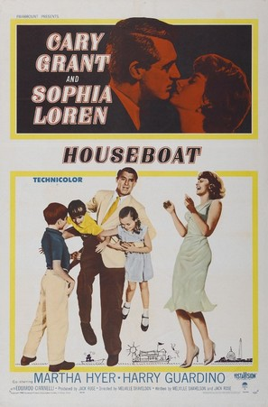 Houseboat - Movie Poster (thumbnail)