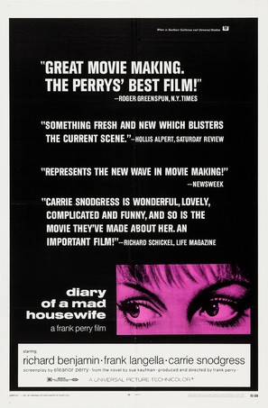 Diary of a Mad Housewife - Movie Poster (thumbnail)