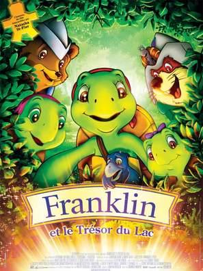 Franklin et le trésor du lac - French Movie Poster (thumbnail)