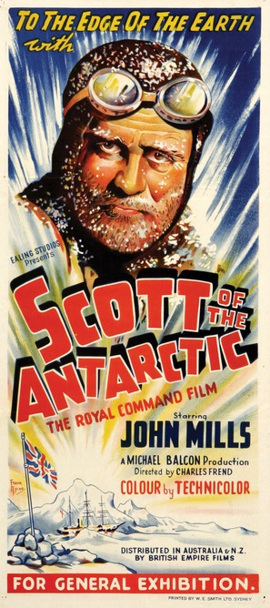 Scott of the Antarctic - Movie Poster (thumbnail)